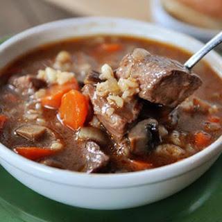 Slow Cookers Beef Barley Soup