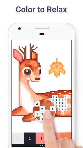 Pixel Art: Color by Number Android App Screenshot