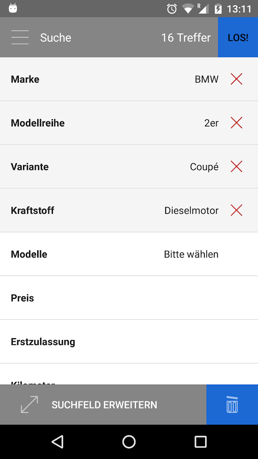 BMWBörse.at – Screenshot
