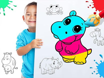 color draw coloring books screenshot thumbnail - Coloring Books For Toddlers