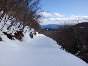 良い感じの雪道