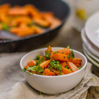 Cumin fried Carrot and Pea Curry