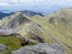 Photo: Ridge leading over the North Top of Goat Fell