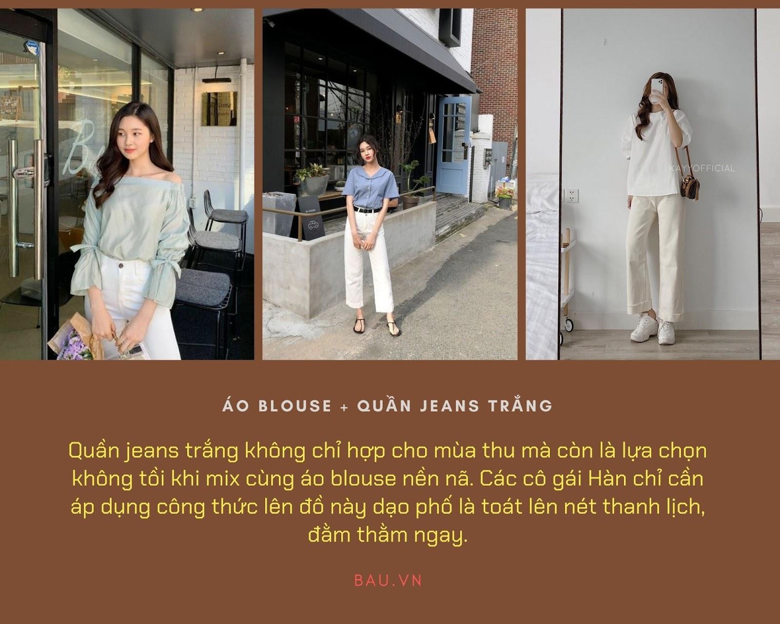 Những tips kết hợp áo blouse cho các cô nàng năng động - ảnh 3