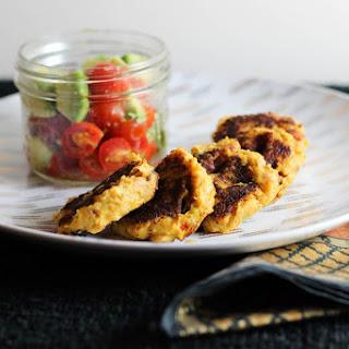 Spicy Potato Chickpea Cakes