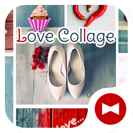 Love Collage +HOME Theme Icon