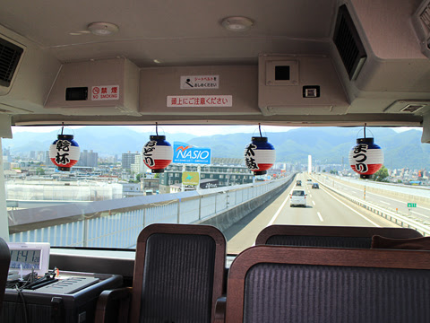 WILLER(網走バス)「レストランバス」 札幌8888 札樽道走行中