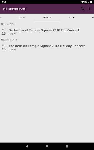 The Tabernacle Choir screenshot 13
