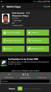 Fantasy Football & NFL News- screenshot thumbnail