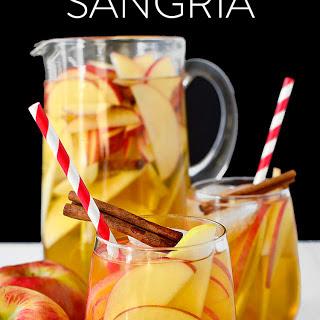 Sparkling Hard Apple Cider Sangria