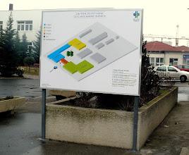 Photo: Eligazító tábla helyszíni telepítéssel!