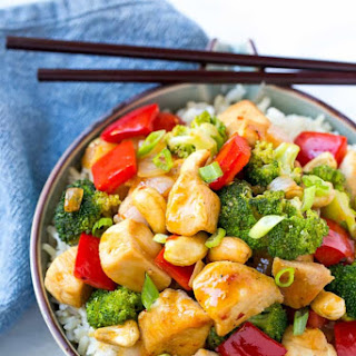 Spicy Chicken Stir Fry.