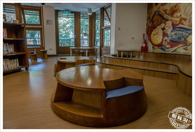 北投圖書館兒童椅
