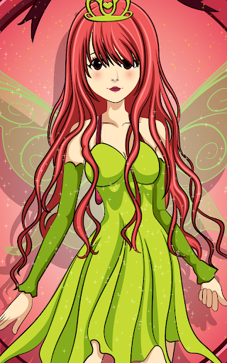 妖精の王女のドレス