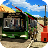 Army Bus Soldier Duty
