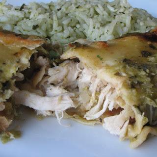 Jen's Chicken Enchiladas