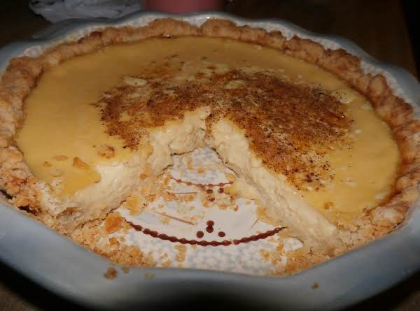 Velvet Custard Pie Recipe