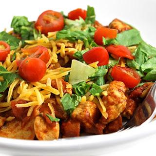 Skinny, Easy, Chicken Enchilada Skillet
