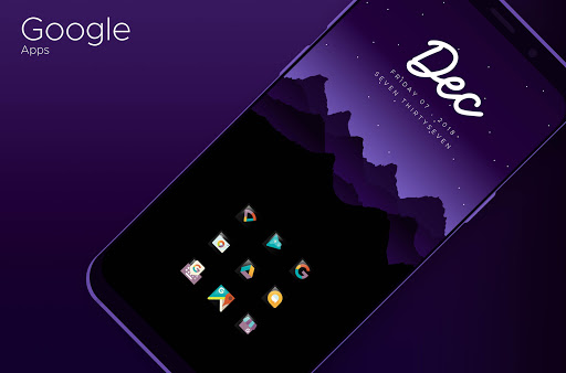 Nightwiz - Icon Pack screenshots 3