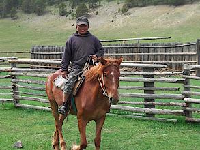 Photo: A Buryat horseman