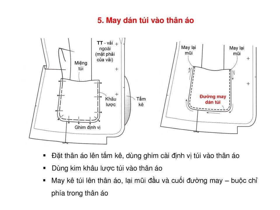 Bảng Size Thông Số Chuẩn Áo VEST NAM-NỮ Và Hướng Dẫn Cách Ráp Áo VEST 10