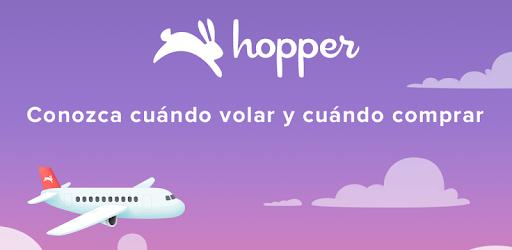 Resultado de imagen para Hopper - Compra Vuelos Baratos:apk