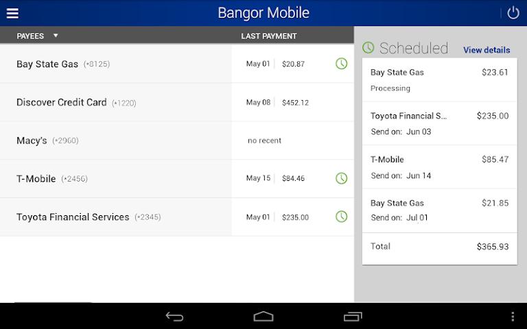 android Bangor Mobile Screenshot 8