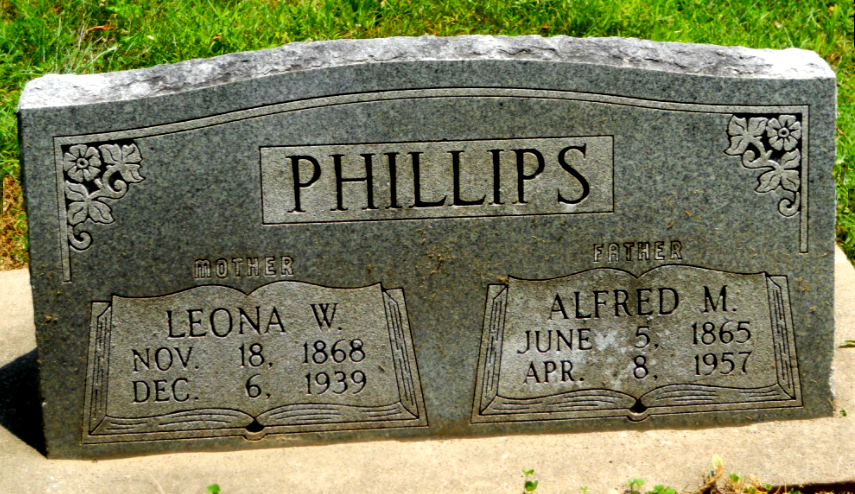 Grave Marker, Shiloh Cemetery, Marion IL.png