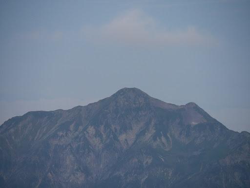 笠ヶ岳アップ