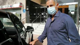 José Gomes con LA VOZ en el Hotel Gran Fama.