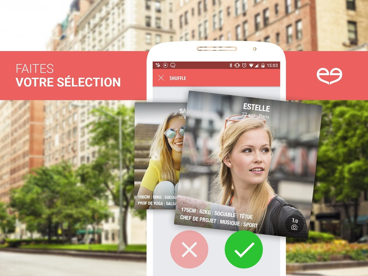 Meetic la rencontre applications android sur google play for Atelier cuisine meetic