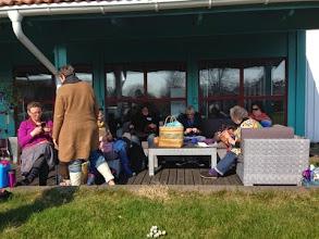 Photo: Redan till lunch på fredagen börjar de mest långväga deltagarna anlända.