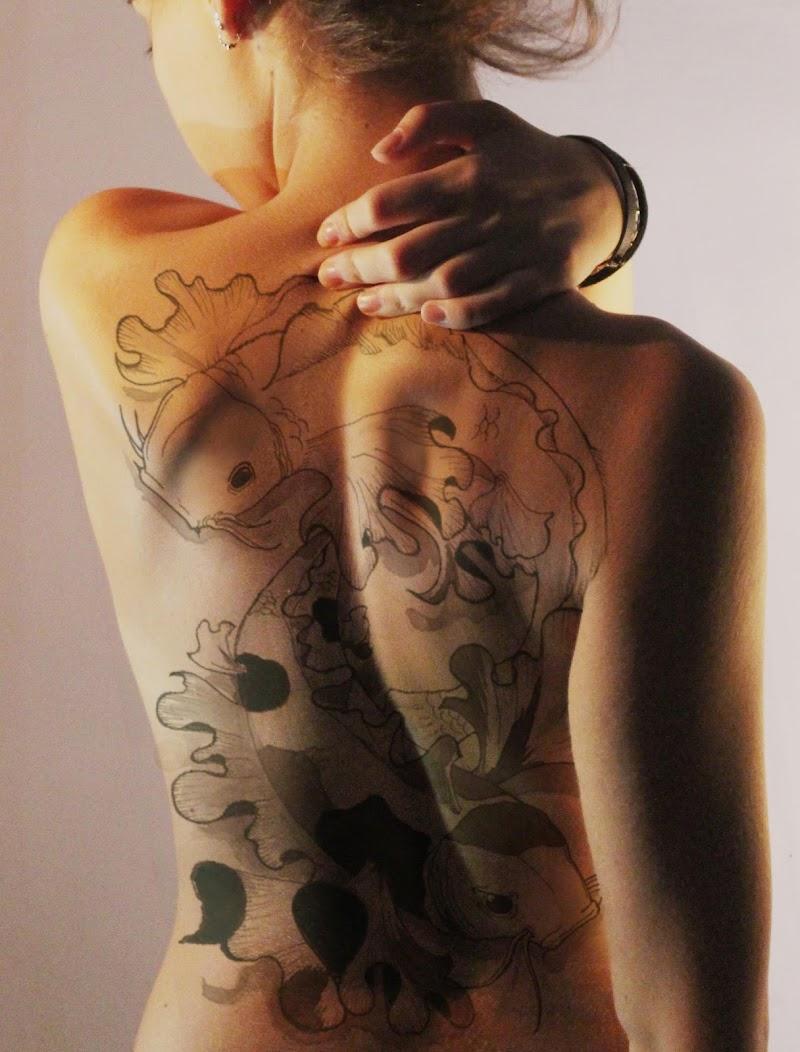 il segno per sempre sulla pelle di Lara Del Freo