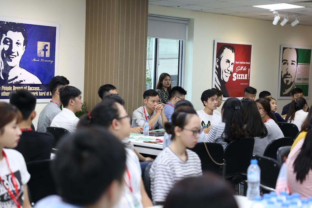 Hình ảnh khai giảng lớp SEO Sinh viên K1
