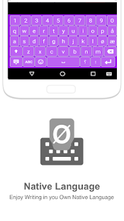 Norwegian Input keyboard - náhled