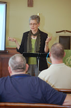 Photo: Rev. Kathy McDowell's worshop on Preventing Clergy Sexual Misconduct""