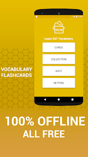 Learn SAT Vocabulary Cards - náhled