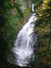 Photo: Moss Glen Falls is a spectacular 100+ foot high cataract.