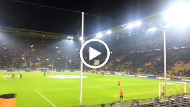 Video: Beide Mannschaften beim aufwärmen