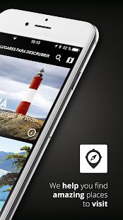 Darwin Travel App - náhled