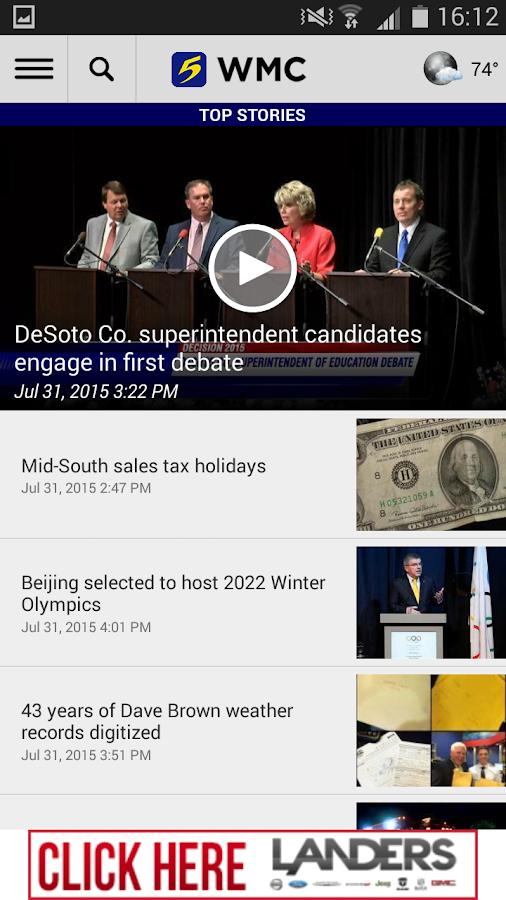 WMC Action News 5- screenshot