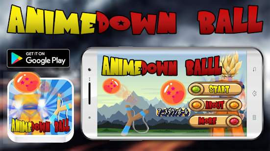 Anime Down ball - náhled