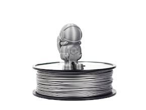 Silver MH Build Series ABS Filament - 3.00mm (1kg)