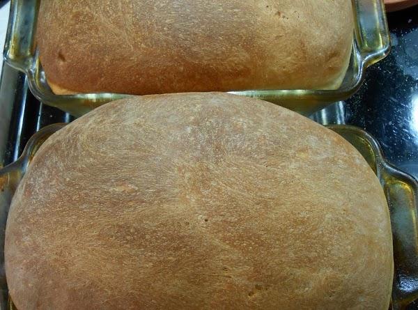 Bake Italian bread.