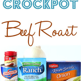 Crock Pot Beef Roast Ranch Dressing Recipes