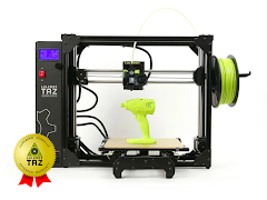 LulzBot TAZ Workhorse with 1 Year Extended Warranty