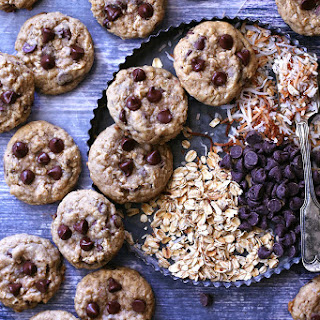 Toasted Coconut Oatmeal Chocolate Chip Cookies