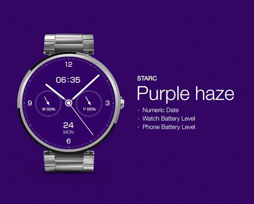 Purple Haze watchface