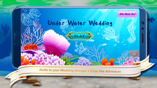Download Underwater Theme - Wedding Invitation Game For PC Windows and Mac apk screenshot 2