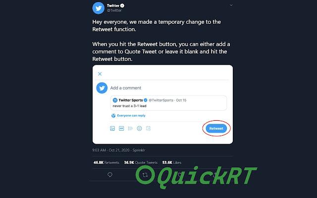 Quick Retweet